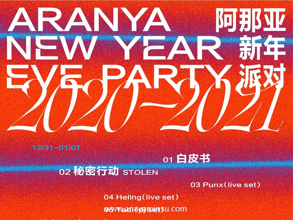 阿那亚新年派对